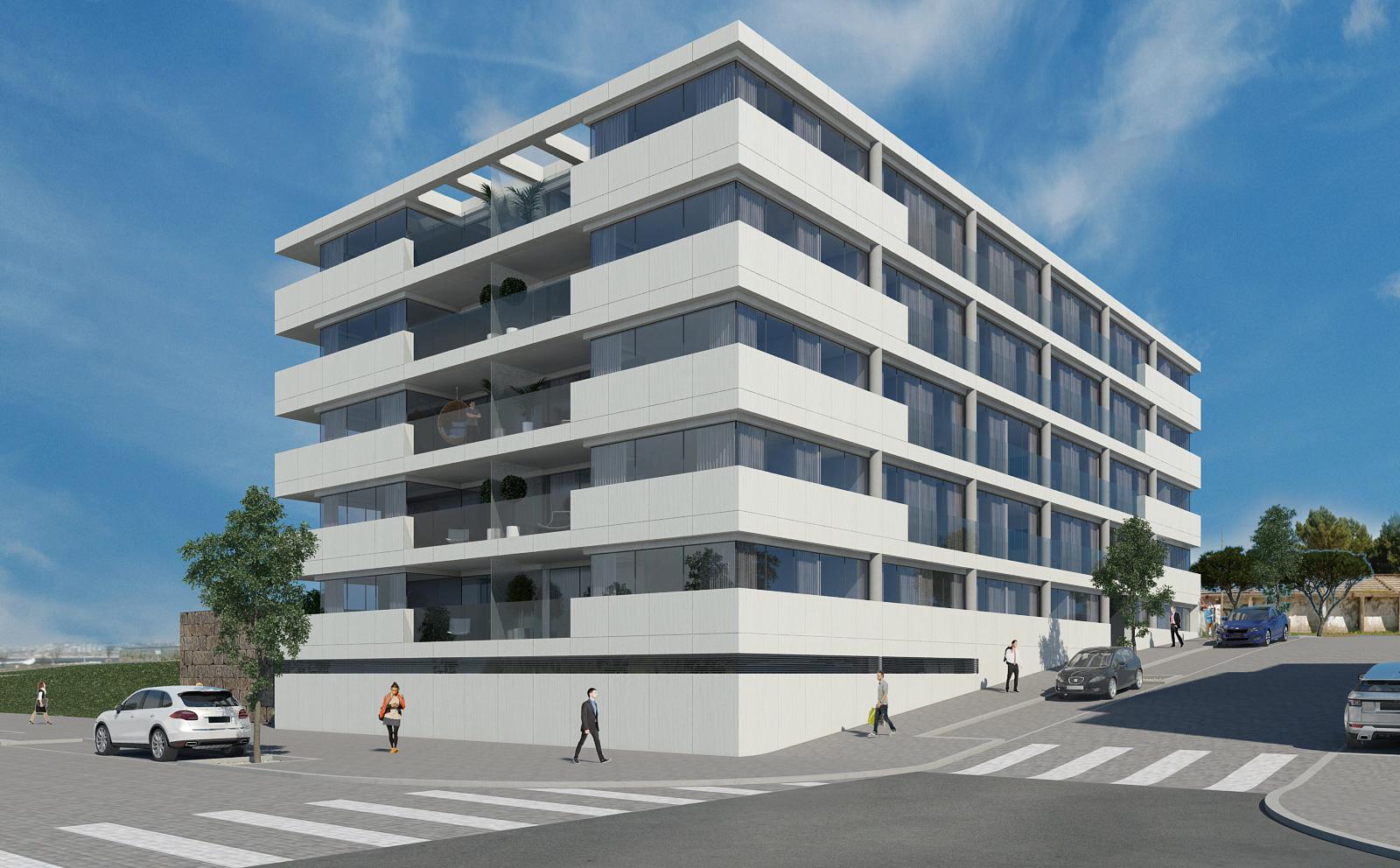 Edifício Douro Atlântico I – apartamentos T1, T2, T3 e T4, em Canidelo, Vila Nova de Gaia
