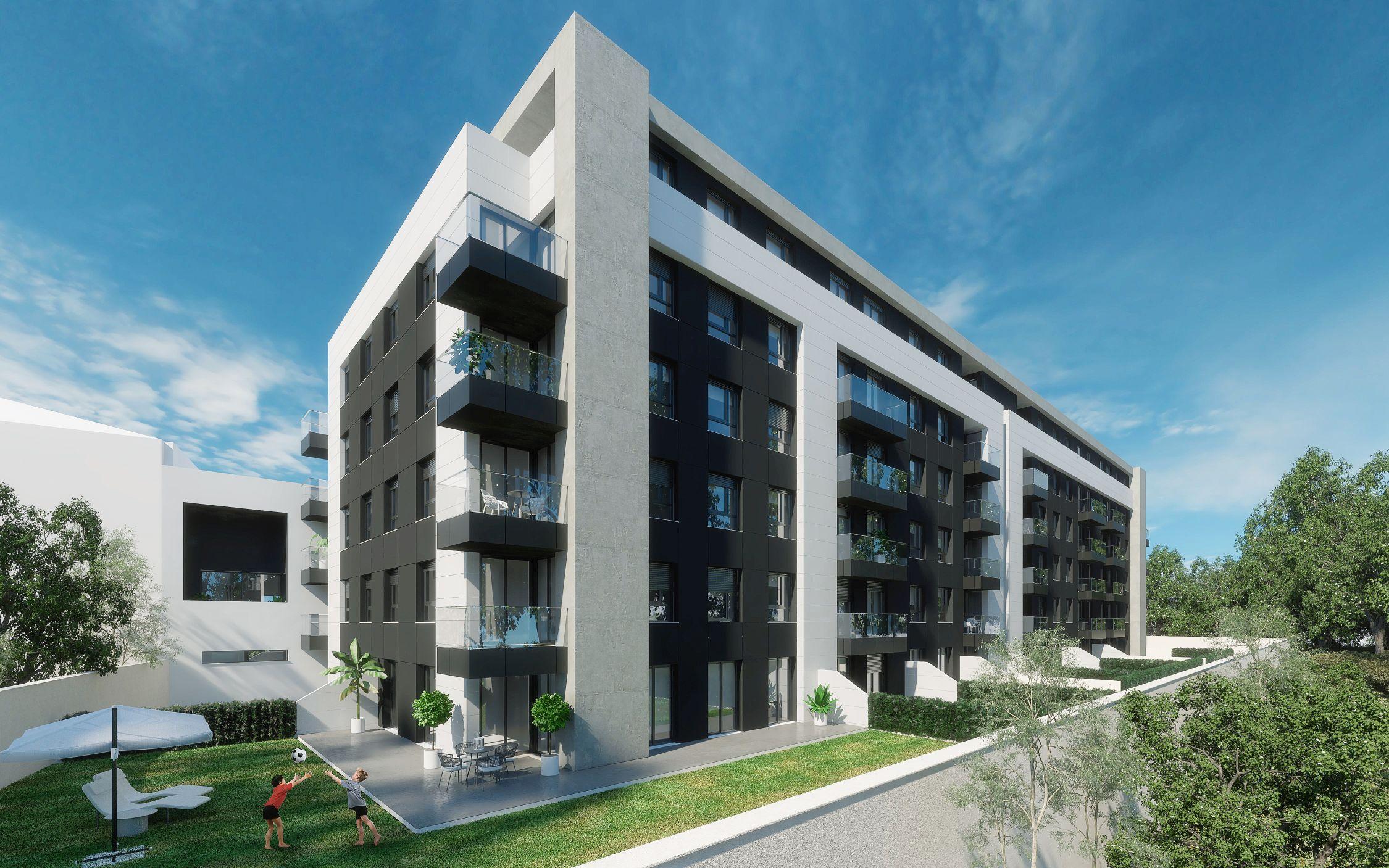 Edifício Boss Smart City com apartamentos T1, T2, T3 e T4 em Paranhos