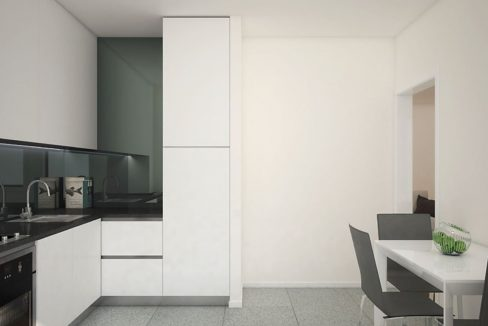 Apartamentos Leça Mar_cozinha