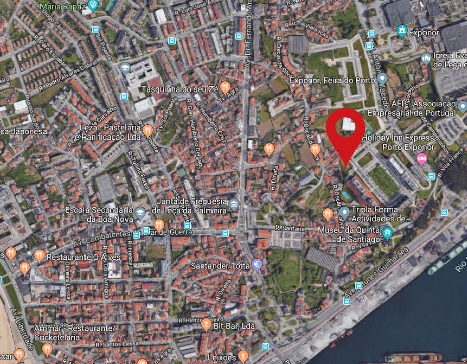 Apartamentos Leça Mar_localização