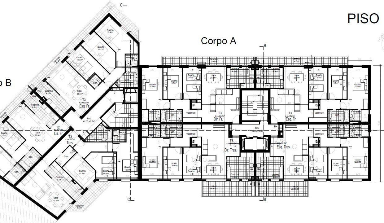 Apartamentos Leça Mar_piso1,2e3