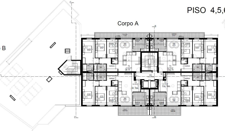 Apartamentos Leça Mar_piso4,5,6,7,8e9