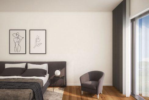 Apartamentos Leça Mar_quarto